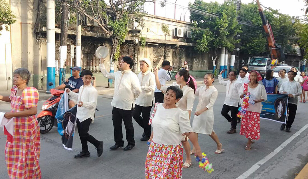 Karakol Dance in Honor of Our Lady of The Miraculous Medal (Philippines)