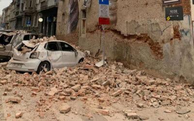 Croacia golpeada por un terremoto durante el cierre por el coronavirus