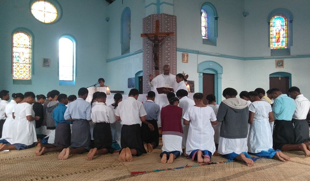 Fiesta de la Asunción en Fiji