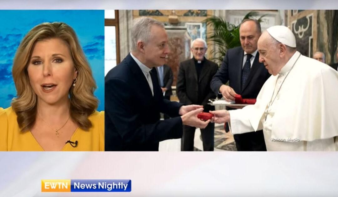 Estatua de Nuestra Señora de la Medalla Milagrosa – Peregrinación en Italia