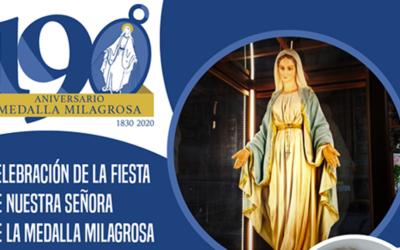 Fiesta de Nuestra Señora de la Medalla Milagrosa – En vivo desde Roma con el P. Tomaž Mavrič, cm