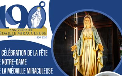 Fête de Notre-Dame de la Médaille Miraculeuse – En direct de Rome avec le P. Tomaž Mavrič, cm