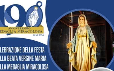 Festa della Madonna della Medaglia Miracolosa – Live from Rome con p. Tomaž Mavrič, CM