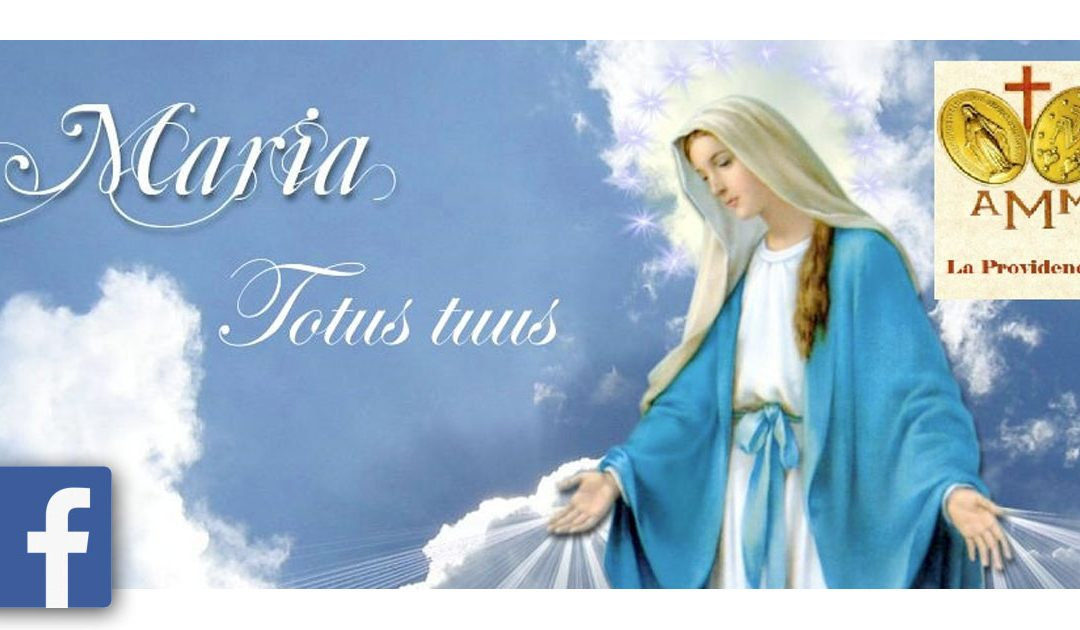 Grupa modlitewna Cudownego Medalika na Facebooku