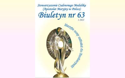 Stowarzyszenie Cudownego Medalika Biuletyn nr 63