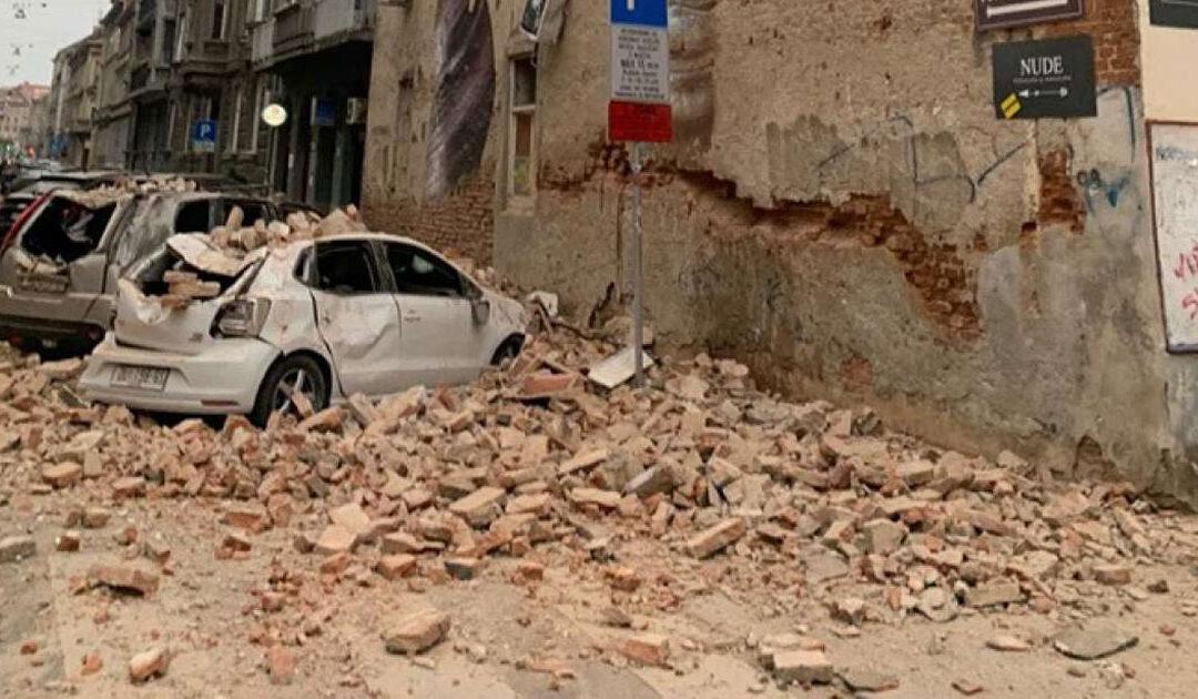 Croácia atingida por terremoto durante o confinamento de coronavírus