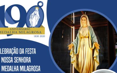 Festa de Nossa Senhora da Medalha Milagrosa – ao vivo de Roma com o pe. Tomaž Mavrič, C.M.